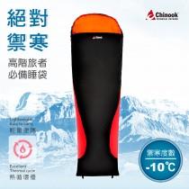 【Chinook】負10°C Primaloft 科技棉掌中寶睡袋20215(露營睡袋)