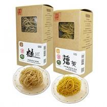 【源順】有機糙米麵條10盒(糙米+薑黃)
