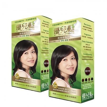 【優兒髮】美魔女泡泡染髮劑6盒送1盒優惠組(共7盒)