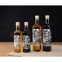 【芝麻先生】台灣頂級黑芝麻胡麻油/清麻油任選一大一小(500ml+250ml)